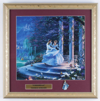 "Thomas Kinkade ""Cinderella"" 16x16 Custom Framed Print Display with Pin at PristineAuction.com"