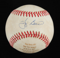 Yogi Berra Signed LE OAL Laser Engraved Baseball (JSA COA) at PristineAuction.com