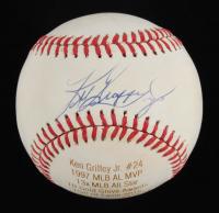Ken Griffey Jr. Signed LE OAL Laser Engraved Baseball (JSA COA) at PristineAuction.com