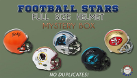 Schwartz Sports Football Superstar Signed Full-Size Football Helmet Mystery Box – Series 2 (Limited to 50) (NO DUPLICATES!) at PristineAuction.com