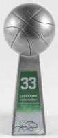 "Larry Bird Signed Hall of Fame 14"" Championship Basketball Trophy (Bird Hologram) at PristineAuction.com"