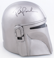 "Pedro Pascal Signed ""The Mandalorian"" Full-Size Helmet (Beckett COA) at PristineAuction.com"