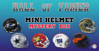 Schwartz Sports Football Hall of Famer Signed Mini Helmet Mystery Box – Series 12 (Limited to 100) at PristineAuction.com