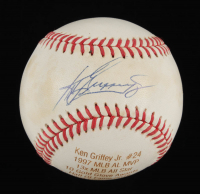Ken Griffey Jr. Signed LE OAL Laser Engraved Baseball (JSA COA) at PristineAuction.com