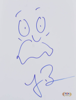 "Loren Bouchard Signed ""Bob's Burgers"" 8x10 Hand-Drawn Sketch (PSA COA) at PristineAuction.com"