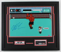 "Mike Tyson Signed ""Punch-Out!!"" 22x26 Custom Framed Photo Display (Fiterman Sports Hologram) at PristineAuction.com"
