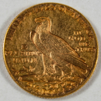 1914 D $2.50 Indian Head Quarter Eagle Gold Coin at PristineAuction.com