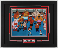 """Mike Tyson Signed """"Punch-Out!!"""" 18x22 Custom Framed Photo Display (Fiterman Sports Hologram) at PristineAuction.com"""