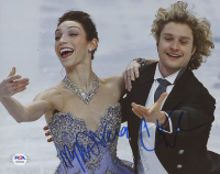 Meryl Davis & Charlie White Signed 8x10 Photo (PSA COA) at PristineAuction.com