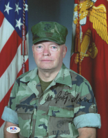 "Alfred Gray Signed 8x10 Photo Inscribed ""Marine!"" (PSA COA) at PristineAuction.com"