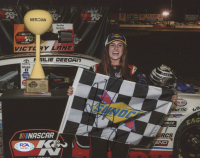 Hailie Deegan Signed 8x10 Photo (PSA COA) at PristineAuction.com
