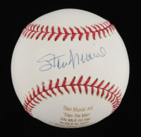 Stan Musial Signed LE ONL Laser Engraved Baseball (MLB Hologram & TriStar Hologram) at PristineAuction.com