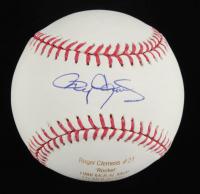 Roger Clemens Signed LE OML Laser Engraved Baseball (JSA COA) at PristineAuction.com