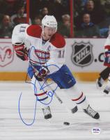 Saku Koivu Signed Canadiens 8x10 Photo (PSA COA) at PristineAuction.com