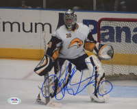 Ryan Miller Signed Sabres 8x10 Photo (PSA COA) at PristineAuction.com