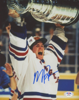 Mike Richter Signed Rangers 8x10 Photo (PSA COA) at PristineAuction.com