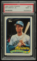 Ken Griffey Jr. 1989 Topps Traded #41T RC (PSA 9) at PristineAuction.com