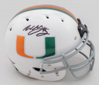 Willis McGahee Signed Miami Hurricanes Full-Size Authentic On-Field Helmet (JSA COA) at PristineAuction.com