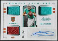 Tua Tagovailoa 2020 Absolute #202 JSY AU RC at PristineAuction.com