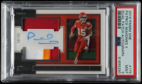 Patrick Mahomes II 2019 Panini One #179 Jersey Autograph (PSA 9) at PristineAuction.com
