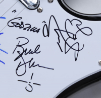"Blue Oyster Cult 39"" Electric Guitar Band-Signed by (5) with Buck Dharma, Eric Bloom, Danny Miranda, Richie Castellano & Jules Radino Inscribed ""Godzilla"" & ""Blue Oyster"" (JSA COA) at PristineAuction.com"