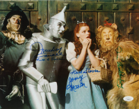 """The Wizard Of Oz"" 11x14 Photo Cast-Signed by (5) with Mickey Carroll, Jerry Maren, Donna Stewart-Hardaway, Karl Slover, & Ruth Duccini (JSA COA) at PristineAuction.com"
