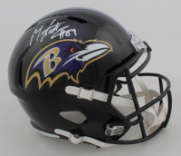Mark Andrews Signed Ravens Full-Size Speed Helmet (JSA COA) at PristineAuction.com