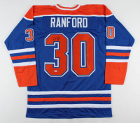 Bill Ranford Signed Jersey (Beckett COA) at PristineAuction.com