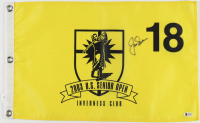 Jack Nicklaus Signed 2003 US Senior Open Golf Pin Flag (Beckett LOA) at PristineAuction.com