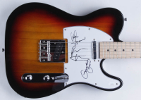 """""""Violent Femmes"""" 39"""" Electric Guitar Band-Signed by (3) with Gordon Gano, Brian Ritchie & John Sparrow (JSA Hologram) at PristineAuction.com"""