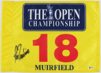 Lee Trevino Signed The Open Championship Golf Pin Flag (Beckett COA) at PristineAuction.com