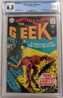 "1968 ""Brother Power the Geek"" Issue #1 DC Comic Book (CGC 6.5) at PristineAuction.com"