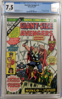 "1974 ""Giant-Size Avengers"" Issue #1 Marvel Comic Book (CGC 7.5) at PristineAuction.com"