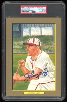 Johnny Mize Signed LE 1985-97 Perez-Steele Great Moments #23 (PSA Encapsulated) at PristineAuction.com