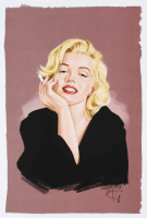 Tony Santiago - Marilyn Monroe 13x19 Signed Lithograph (PA COA) at PristineAuction.com