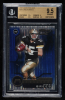 Drew Brees 2001 Quantum Leaf #202 RC (BGS 9.5) at PristineAuction.com