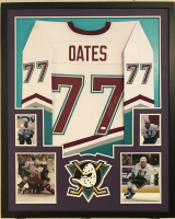 "Adam Oates Signed 34x42 Custom Framed Jersey Inscribed ""HOF 12"" (JSA COA) at PristineAuction.com"