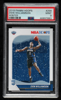 Zion Williamson 2019-20 Panini Hoops Winter #258 RC (PSA 9) at PristineAuction.com