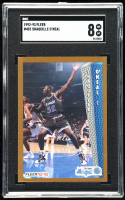 Shaquille O'Neal 1992-93 Fleer #401 RC (SGC 8) at PristineAuction.com