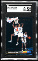 Shaquille O'Neal 1992-93 Upper Deck #1 SP RC / NBA First Draft Pick (SGC 8.5) at PristineAuction.com