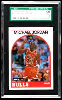Michael Jordan 1989-90 Hoops #200 (SGC 9) at PristineAuction.com