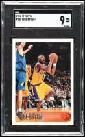 Kobe Bryant 1996-97 Topps #138 RC (SGC 9) at PristineAuction.com