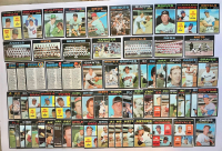 Lot of (130) 1971 Topps Baseball Cards with Thurmon Munson #5, Bert Blyleven #26 RC, Pete Rose #100 at PristineAuction.com
