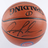 Dennis Rodman Signed Pistons Logo NBA Game Ball Series Basketball (JSA COA & Fiterman Sports Hologram) at PristineAuction.com