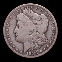 1882-CC Morgan Silver Dollar at PristineAuction.com
