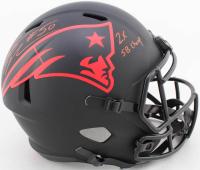 "Rob Ninkovich Signed Patriots Full-Size Eclipse Alternate Speed Helmet Inscribed ""2x SB Champ"" (Beckett COA) at PristineAuction.com"