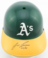"Jose Canseco Signed Athletics Full-Size Batting Helmet Inscribed ""40/40"" (Schwartz COA) at PristineAuction.com"