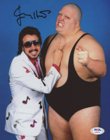 Jimmy Hart Signed 8x10 Photo (PSA COA) at PristineAuction.com