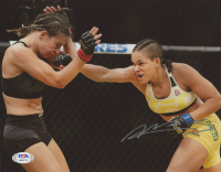 Amanda Nunes Signed UFC 8x10 Photo (PSA COA) at PristineAuction.com