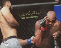 "Dominick Reyes Signed UFC 8x10 Photo Inscribed ""The Devastator"" (PSA COA) at PristineAuction.com"